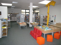 Innenansicht Bücherei