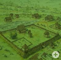 Keltische Viereckschanze