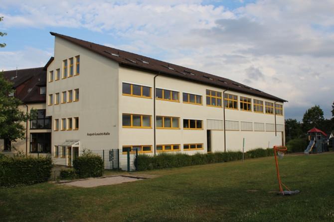 August-Leucht-Halle Außenansicht