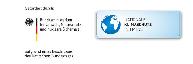 Logo Bundesministerium für Umwelt, Naturschutz und nukleare Sicherheit Förderung Straßenbeleuchtung