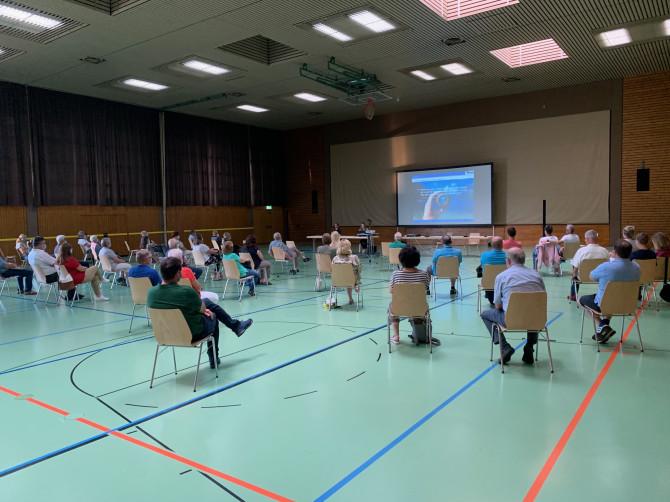 Bürgerveranstaltung in der Willy-Dieterle-Halle
