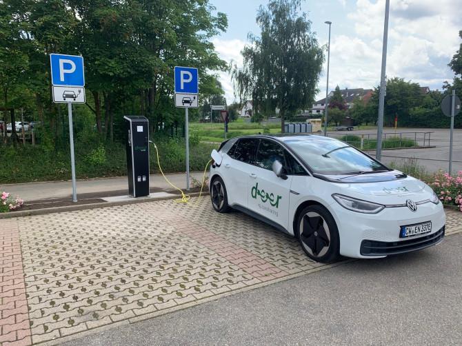 Elektromobilität in Jettingen